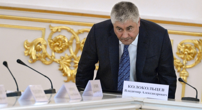 "Russian Interior Minister Vladimir Kolokoltsev: ""I may incur anger from opponents of the death penalty. But as a citizen, not as a minister, I don't think it would be wrong to exercise this punishment for such criminals."" Source: Kommersant"