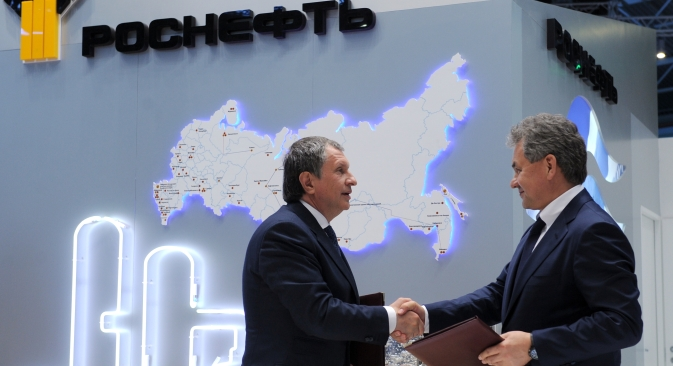 In the last two years, Rosneft has actively sought to bring Russian and foreign companies on board projects in the Arctic shelf. Source: ITAR-TASS