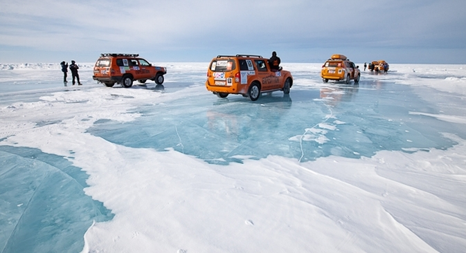 On Feb. 23, dozens of adventure enthusiasts will commence a 10,000-mile journey by jeep across Russia's frozen wilderness. Source: Expedition