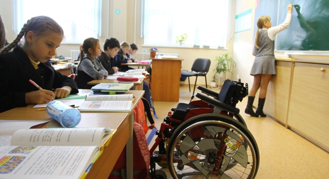 Children with special needs may attend regular state schools under a new law on education. Source: PhotoXPress