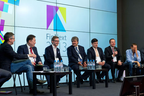 In late February, industry insiders discussed the state of the Russian market for financial startups at the FinNext forum in Moscow. Source: finnext.ru