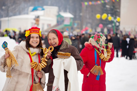 People celebrate Maslenitsa in Moscow. Source: Lori / Legion Media