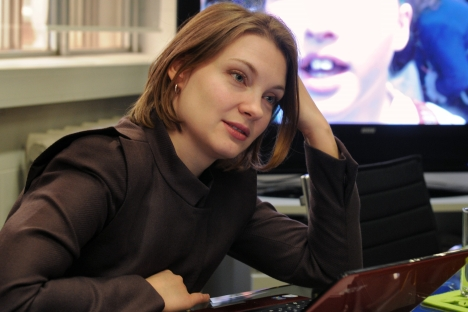 "Tinkoff Digital CEO Anna Znamenskaya: ""We see an enormous potential: mobile Internet users account for more than 50 percent of all Internet users, and this number is growing at an amazing pace."" Source: Kommersant"