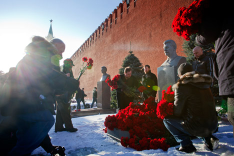 Russia marks the 60th anniversary of Soviet leader Joseph Stalin's death. Source: RBTH / Ricardo Marquina