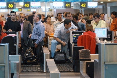 Primeiro a passar pelo processo deve ser o Aeroporto Internacional Domodêdovo Foto: Iliá Pitalev/RIA Nóvosti