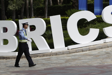 Moscow views BRICS as one of the top priorities of its foreign policy. Source: Reuters