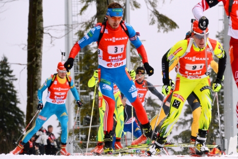 The pre-Olympic Biathlon World Cup was held in Sochi last weekend. Source: AFP / East News