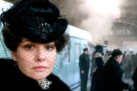 "One of the major festival releases will be Sergei Solovyov's long-awaited ""Anna Karenina,"" which is particularly significant following the success that Joe Wright's ""Anna Karenina"" had in Russian cinemas. Source: Kinopoisk"