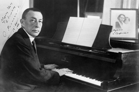 Rachmaninoff was the first Russian composer to scrape together a fortune — moreover, a fortune from his own recordings. Source: RIA Novosti