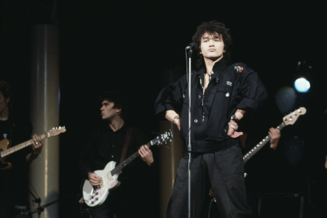 Viktor Tsoi, who died at just 28, remains the real symbol of the era when Russian rock was at its best. Source: Sergey Borisov