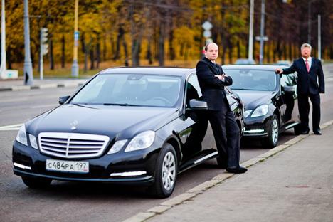 Das Angebot von Wheely unterscheidet sich zum klassischen Taxi: Das bestellte Auto hat keinerlei Aufschriften, die es als Taxi erkennen lassen würden. Foto: Pressebild
