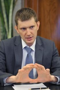 Diretor do Departamento de Política Econômica e Desenvolvimento Urbano do governo de Moscou, Maksim Rechétnikov. Foto: Kommersant