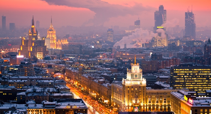 "Moscow Chief Architect Sergei Kuznetsov: ""Moscow must become a city in the full sense of the word. A city is a lifestyle."" Source: Getty Images / Forobank"