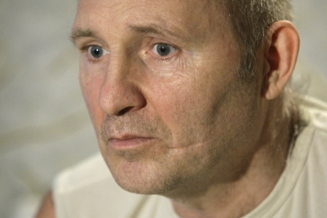 Mikhail Beketov, a vocal campaigner in defending the Khimki Forest, who was savagely beaten in 2008, died in a hospital on April 8, 2013. Source: AP