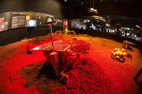 Em 2018, veículo de inspeção irá pousar em Marte para pesquisar a localização ideal do futuro assentamento Foto: ESA