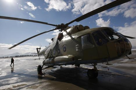 Helicóptero Mi-17 serviu de base para a construção do Mi-171A1 Foto: Reuters