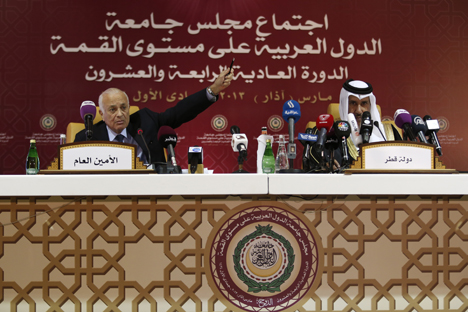 The Arab League Summit resulted in the decision  to hand over Syria's place to the National Coalition for Syrian Revolutionary and Opposition Forces. Source: Reuters
