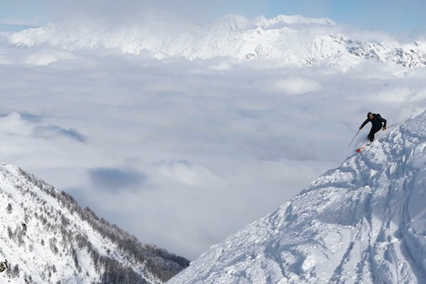 Sochi will collect a huge amount of snow ahead of the 2014 Winter Olympics. Source: Reuters