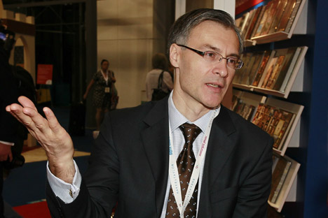 Arkady Vitrouk, former general director of ABC-Atticus. is now Director of Kindle Content for Amazon in Russia  Source: Valeriy Levitin/Ria Novosti