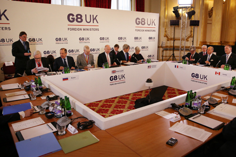 The meeting of G8 foreign ministers is a key stage in the preparations for the G8 summit on June.Source: Getty Images / Fotobank