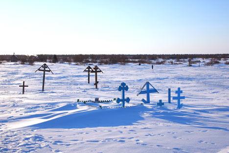 Сemetery in the town of Pustozersk. Source: Semyon Kvasha