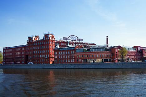 Antiga fábrica de chocolate em Moscou foi transformada em espaço para exposições Foto: Lori / Legion Media
