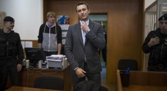 Alexey Navalny. Photo by AP