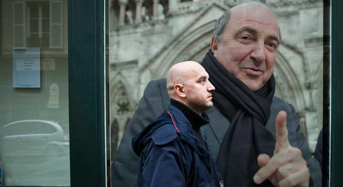 Russian writer Zakhar Prilepin: 'Boris Berezovsky was like molten metal, able to assume any form'. Source: RBTH