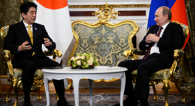 Russia and Japan are going to conclude a peace treaty. Source: Reuters