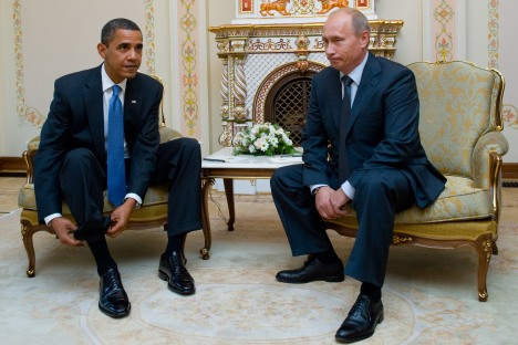 Putin expects to meet personally with Obama again in the near future. Source: AFP / East News