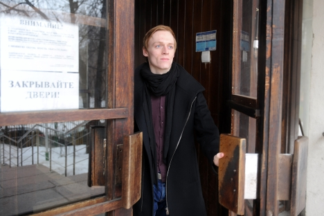 Great Britain's Daniel Dolan appreciated the Moscow ballet. Source: RIA Novosti / Alexander Utkin