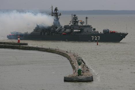 Especialistas acreditam que retorno de esquadrão de navios para porto sírio pode contribuir para a estabilização da situação político-militar na região Foto: Ígor Zarembo / RIA Nóvosti