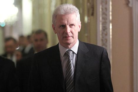 O ex-ministro da Educação e atual assessor presidencial, Andrêi Fúrsenko, será o representante da Presidência do país na Fundação Skólkovo Foto: Serguêi Kuksin / RG