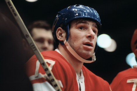 Valeri Kharlamov became a global household name in September 1972, when the Soviets played against Canada in the Summit Series. Source: ITAR-TASS