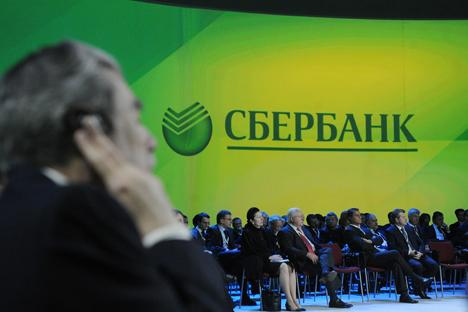 Sberbank é líder de mercado em quase todos os serviços financeiros disponíveis na Rússia Fonte: ITAR-TASS