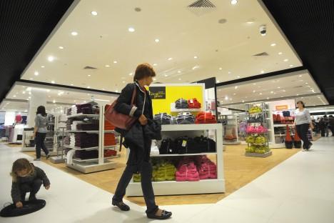 Embora relatório aponte que a Rússia detém o recorde de construção de shoppings, o mercado está longe de estar saturado Foto: ITAR-TASS