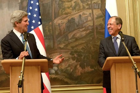Russia and U.S. agree to encourage Syrian government, opposition to negotiate. Source: Michael McFaul