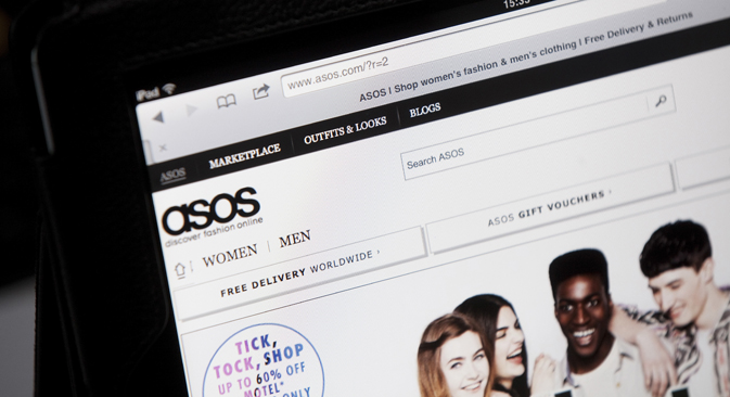Russia became Asos's fifth lagest market by revenue. Source: Getty Images