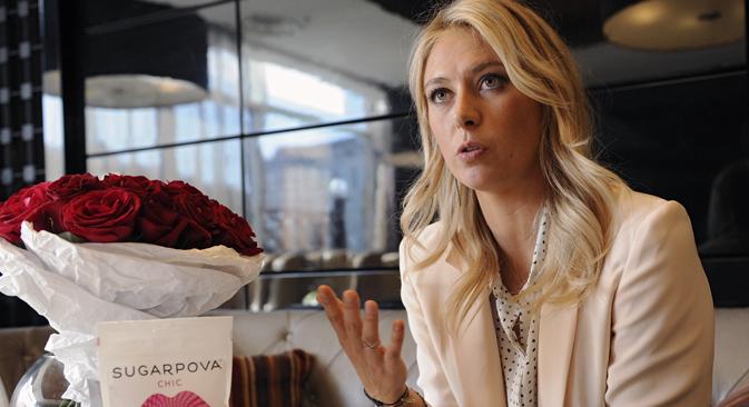 """Maria Sharapova: """"I want to play and I want to win"""". Source: Kommersant"""