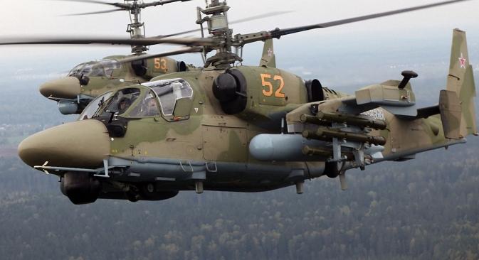 Ka-52 Alligator attack helicopter. Source: Snake Eyes