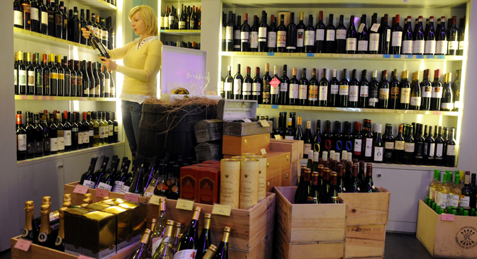 Russia accounts for only 0.6 percent of U.S. wine exports, and there are substantial obstacles to increasing that number. Source: ITAR-TASS