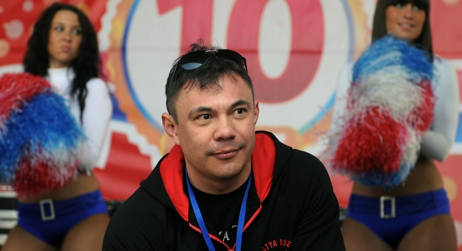 "Konstantin ""Kostya"" Tszyu, himself an erstwhile famed boxer and currently the chief coach of Russian athletes. Source: ITAR-TASS."