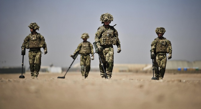 It remains to be seen what will happen after the withdrawal of the NATO troops from Afghanistan. Source: PA Photos / Ben Birchall / ITAR TASS