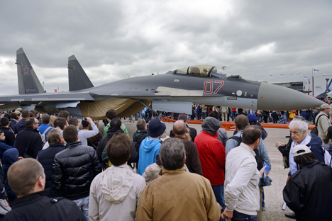 The 2013 Paris Air Show resulted in new orders for Russian aviation. Source: AFP / East News