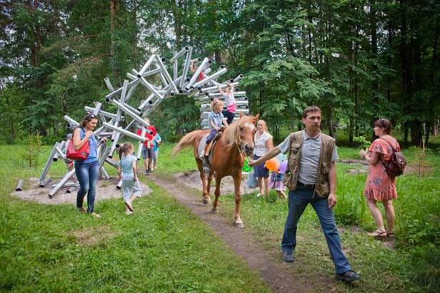 Art Ovrag Festival Brings Big International Art To A Tiny