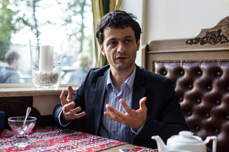 Artem Oganov: 'Don't be misled into thinking that everyone is welcome in the West – the Western system of science is very tough'. Source: Sergey Savostianov / RG