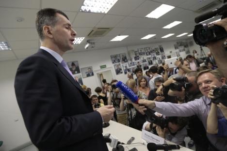 Bilionário Mikhail Prôkhorov anunciou na última quinta-feira (13) que não concorrerá ao cargo Foto: AP