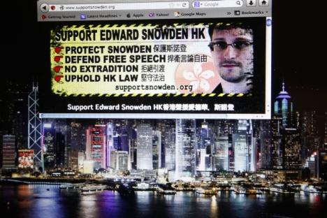 Site de apoio Edward Snowden é divulgado na internet em Hong Kong Fonte: AP