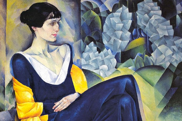 Portrait of Anna Akhmatova by Nathan Altman, 1941