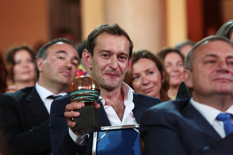 Russian actor Konstantin Khabensky scooped the Best Actor prize. Source: Ekaterina Chesnokova / RIA Novosti